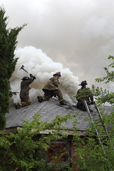 Detroit Fire Department Box Alarm July 2012