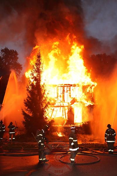 Detroit Fire Department Box Alarm Haverhill and Warren September 2012