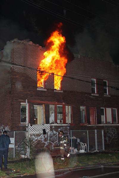Detroit Fire Department Box Alarm September 2012