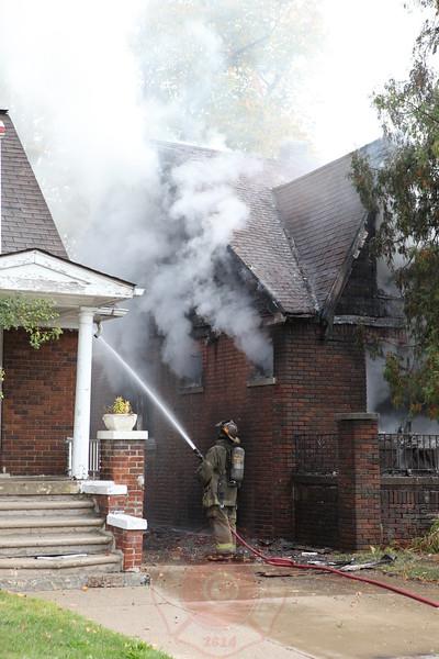 Detroit Fire Department Box Alarm 2012