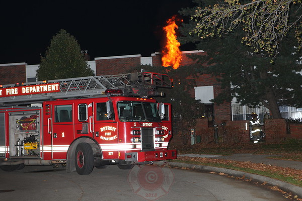Detroit Fire Department Box Alarm November 2012
