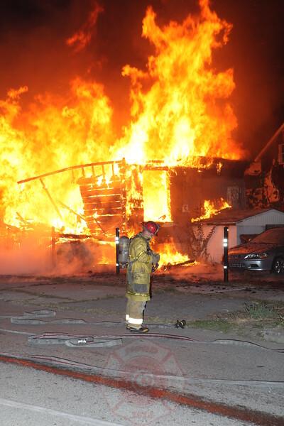 Detroit Fire Department Box Alarm Porter and Morell September 2012