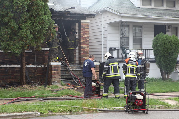 Detroit Fire Department Box Alarm Knodell and McClellan September 2012