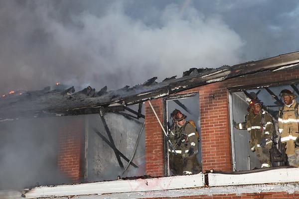Detroit Fire Department Box Alarm Warren and Wabash September 2012