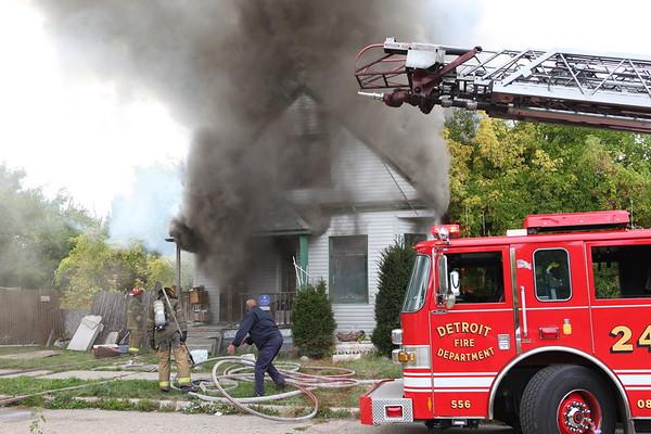 Detroit Fire Department Box Alarm Aoron and Moran September 2012