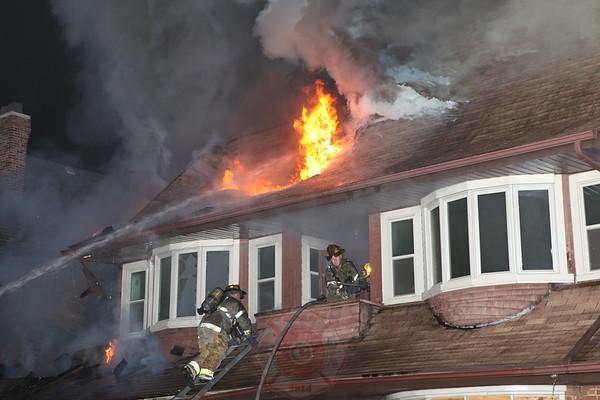 Detroit Fire Department Box Alarm LaSalle Blvd and Calvert September 2012