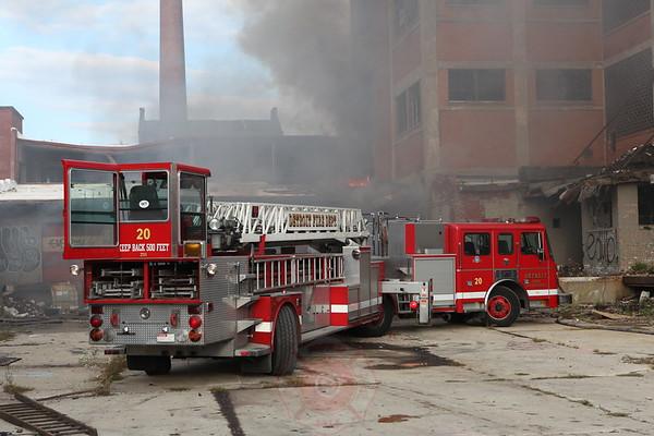 Detroit Fire Department Still Alarm Warren and Rippelle September 2012