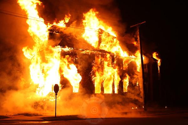 Detroit Fire Department Box Alarm November 2012