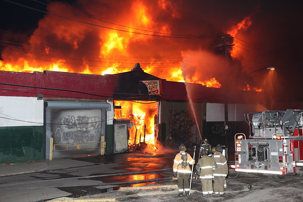 Detroit Fire Department 2nd Alarm Junction and November 2012