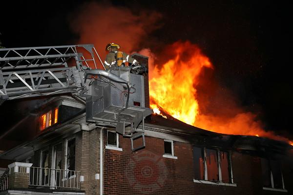 Detroit Fire Department Box Alarm Dexter Street August 17, 2007