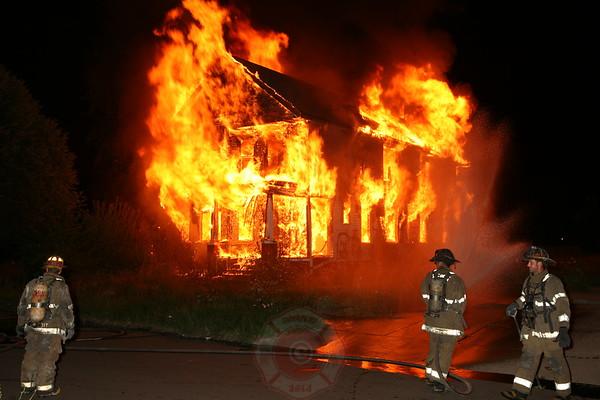 Detroit Fire Department Box Alarm Heidelberg & Ellery July 29, 2008