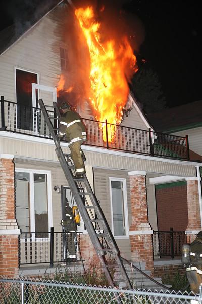 Detroit Fire Department Dwelling Fire June 12, 2007