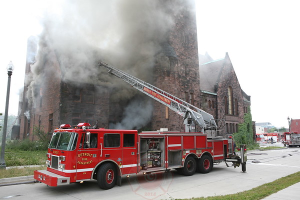 Detroit Fire Department 3rd Alarm Woodward Ave & Edmunds Place July 26, 2008