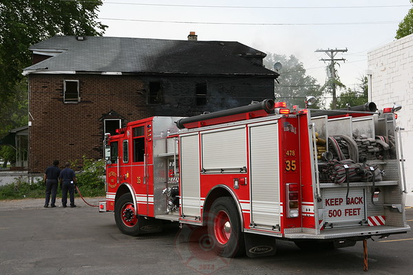 Detroit Fire Department Dwelling Fire Mackay & McNichols May 25, 2008