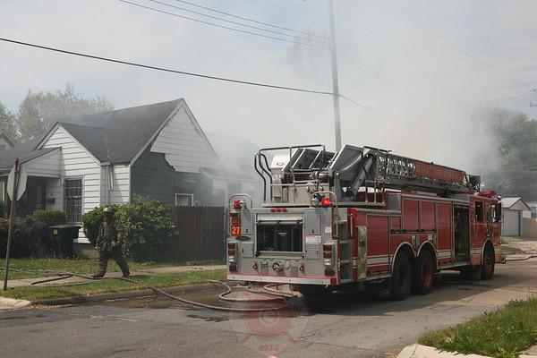 Detroit Fire Department Dwelling Fire Van Buren & Westwood May 26, 2008