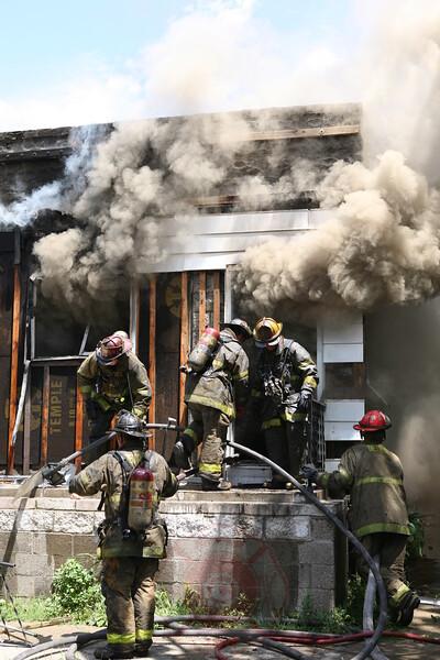 Detroit Fire Department Box Alarm 5646 Chopin July 12, 2007