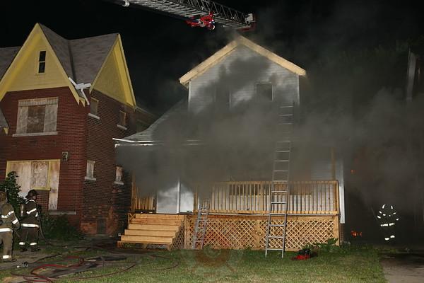 Detroit Fire Department Dwelling Fire September 01, 2008