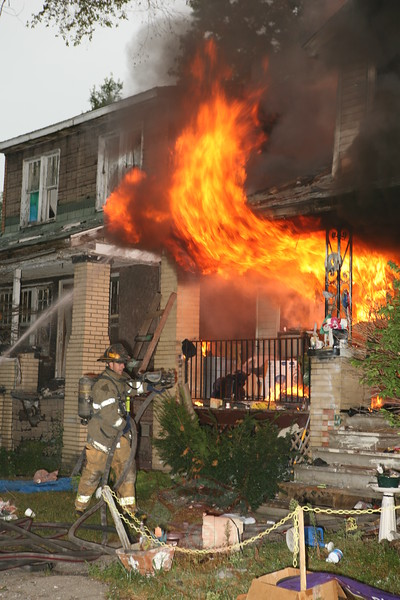 Detroit Fire Department Dwelling Fire August 28, 2008