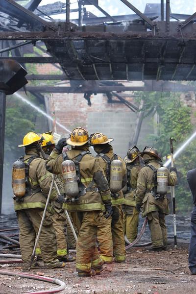 Detroit Fire Department Box Alarm Humbolt & Buchanan July 28, 2008
