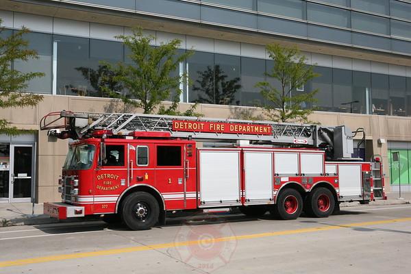 Detroit Fire Department High Rise Fire Ren Center September 3, 2008