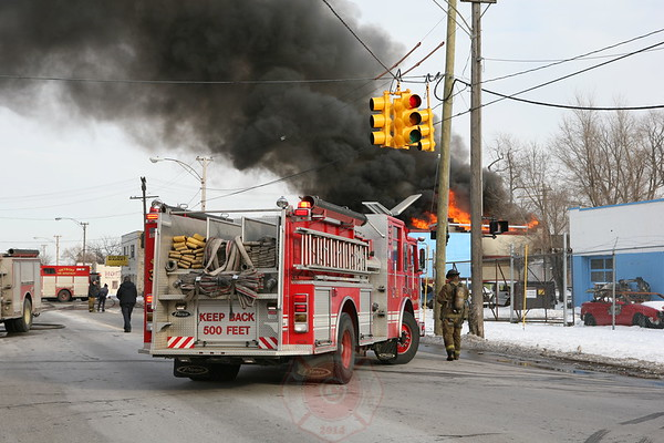 DETROIT FIRE DEPARTMENT FIRES - INCIDENTS-2 - NORDFIREPHOTOS