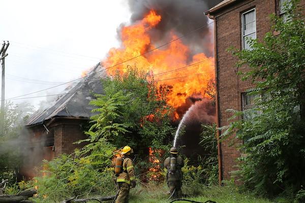 Detroit Fire Department Box Alarm Junction and Buchanan September 9, 2013