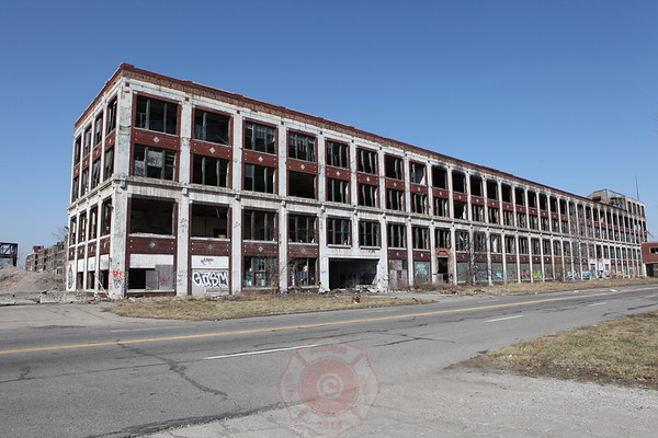 Detroit Packard Plant March 2012