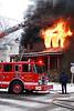 Detroit, MI Box Alarm 3402 Sheridan.. Photo By: Adam Alberti