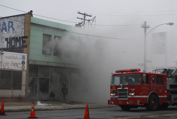 Detroit, MI Box Alarm West 7 Mile and Ardmore March 31, 2008