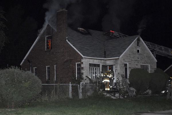 Detroit, MI Box Alarm at Charest St. & Emery St. October 6, 2007
