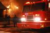 Detroit, MI Box Alarm at 2663 Algonquin on January 29, 2007. Photo By: Adam Alberti