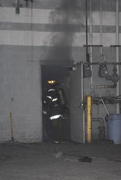 Highland Park, MI. 13236 Woodward Dollar Store Fire 10/7/07