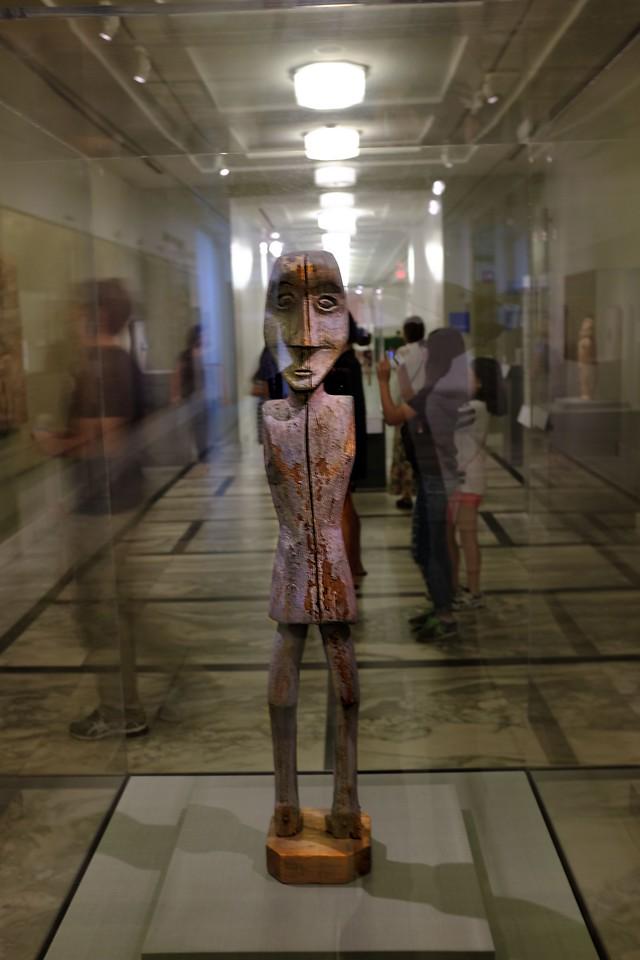Statue at Detroit Institute of Arts