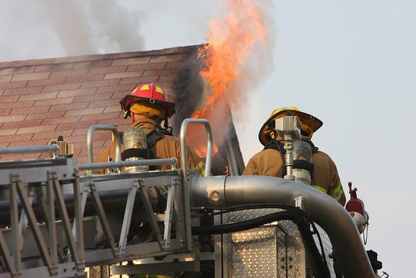 Dearborn Fire Department Dwelling Fire 5726 Kenilworth July 28, 2008