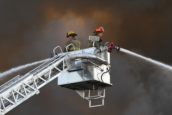 Highland Park Extra Alarm Fire Oakman West of Hamilton July 2012   Part 2