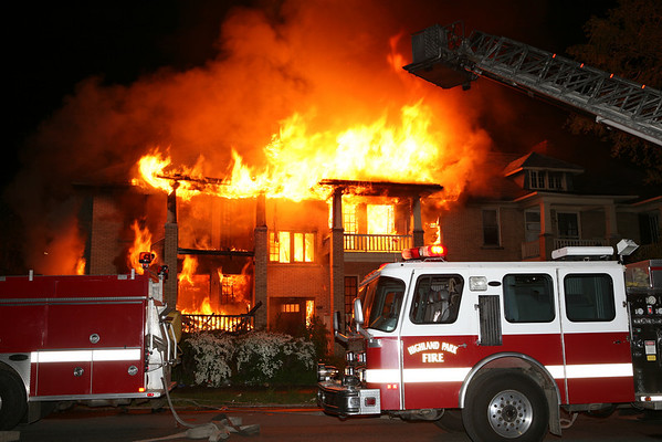 Highland Park Dwelling Fire 2nd & Glendale May 25, 2008