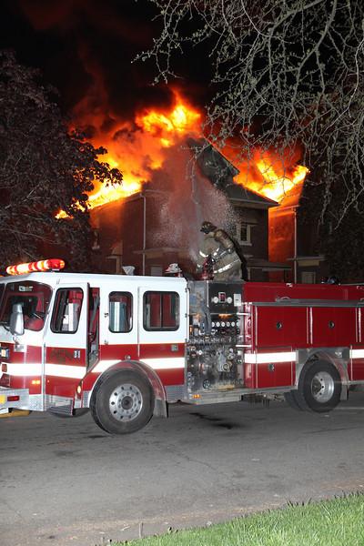 Highland Park Dwelling Fires 3rd & Pilgrim April 29, 2010