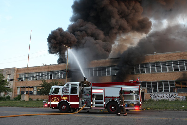 Highland Park Extra Alarm Fire Oakman West of Hamilton July 2012  PART 1