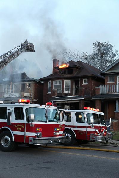 Highland Park Fire Department Dwelling Fires Prospect & Puritan April 28, 2010