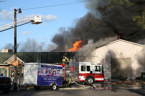 Mt. Clemens Multiple Alarm Fire 29 Hill Street May 2014