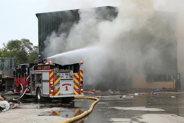 Warren 2 Alarm Fire 20001 Hoover July 12, 2014