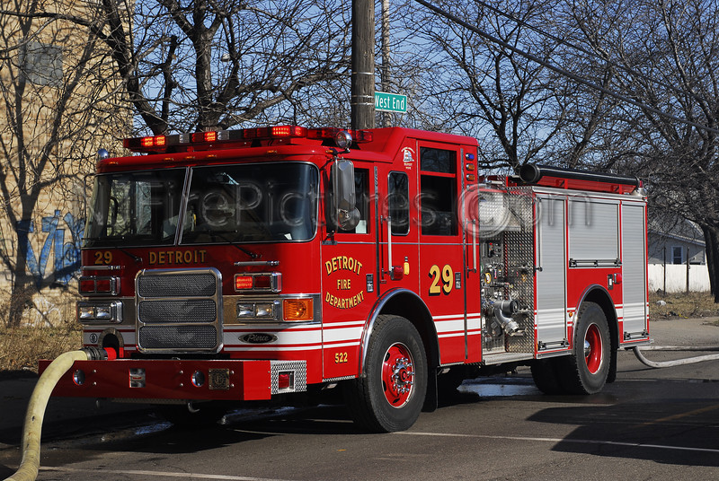 DETROIT, MI ENGINE 29