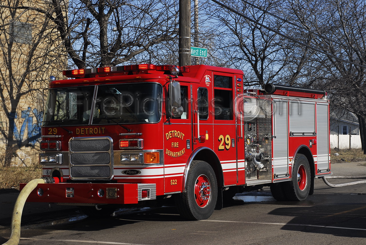 Engine 29 - 2007 Pierce 1250/500/50 #522