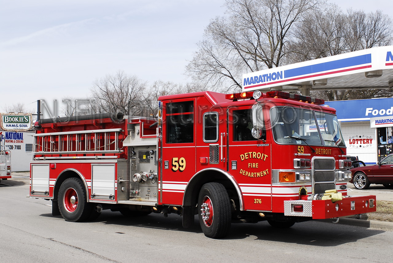 Engine 59 - 2007 Pierce 1250/500/30 #376