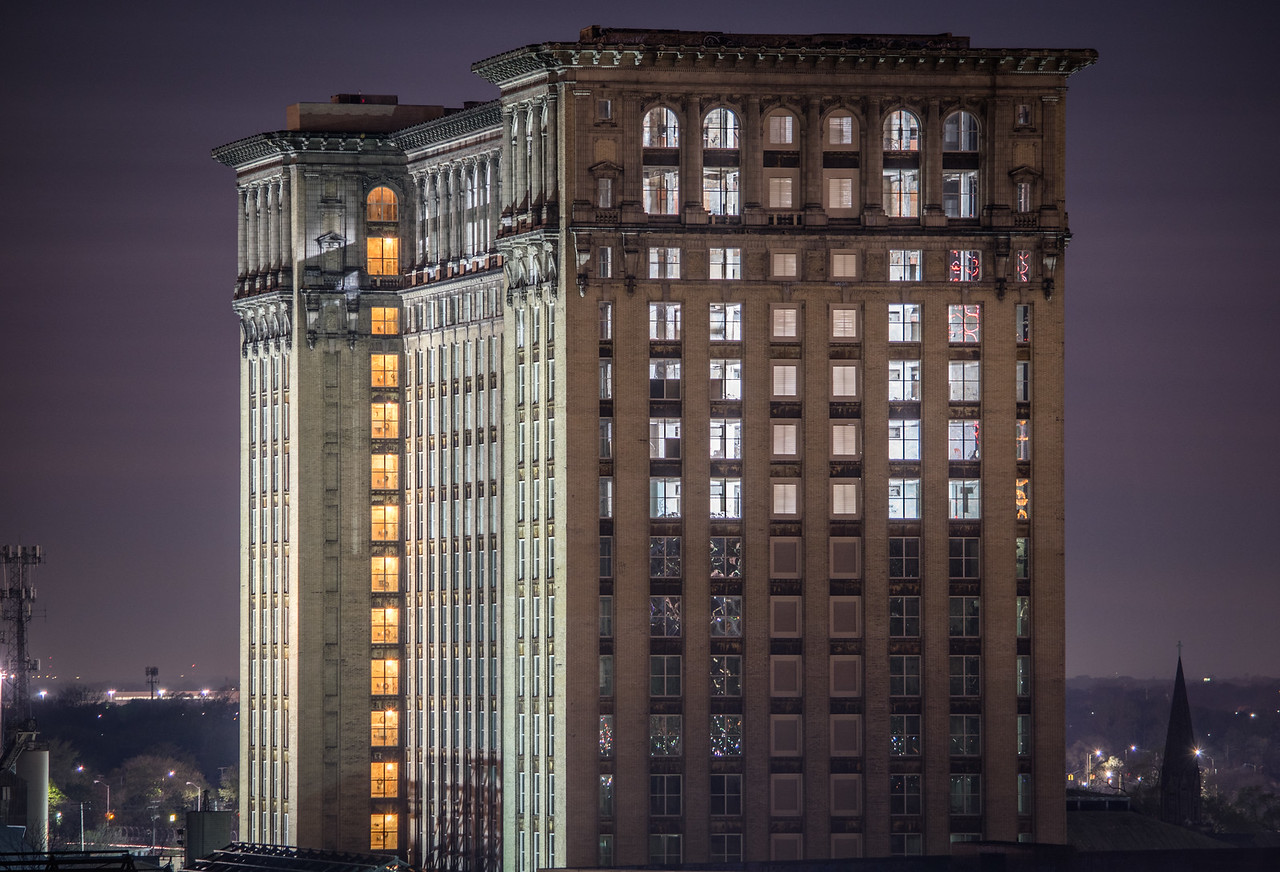 Let There Be Lights - Michigan Central Station