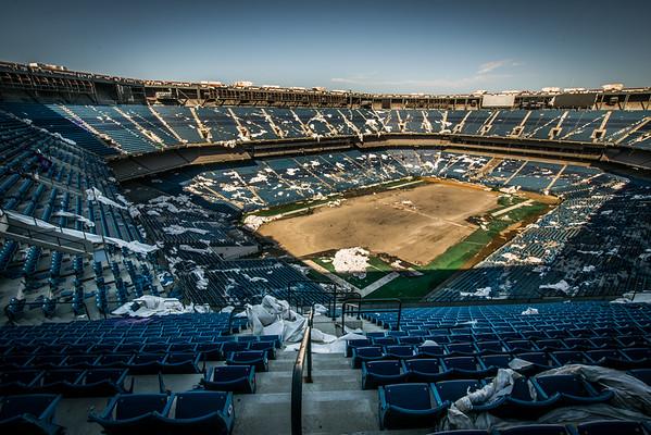 Inside The Pontiac Silverdome