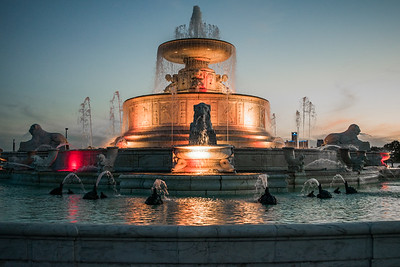 James Scott Memorial Fountain - Belle Isle
