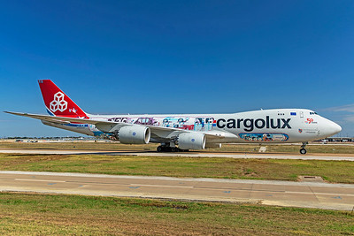Cargolux Airlines International Boeing 747-8R7F LX-VCM 10-24-20