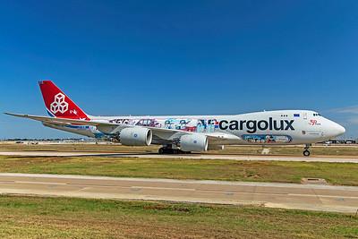 Cargolux Airlines International Boeing 747-8R7F LX-VCM 10-24-20
