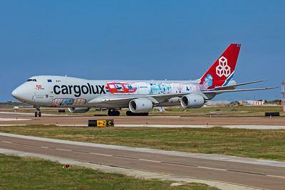 Cargolux Airlines International Boeing 747-8R7F LX-VCM 10-24-20 5